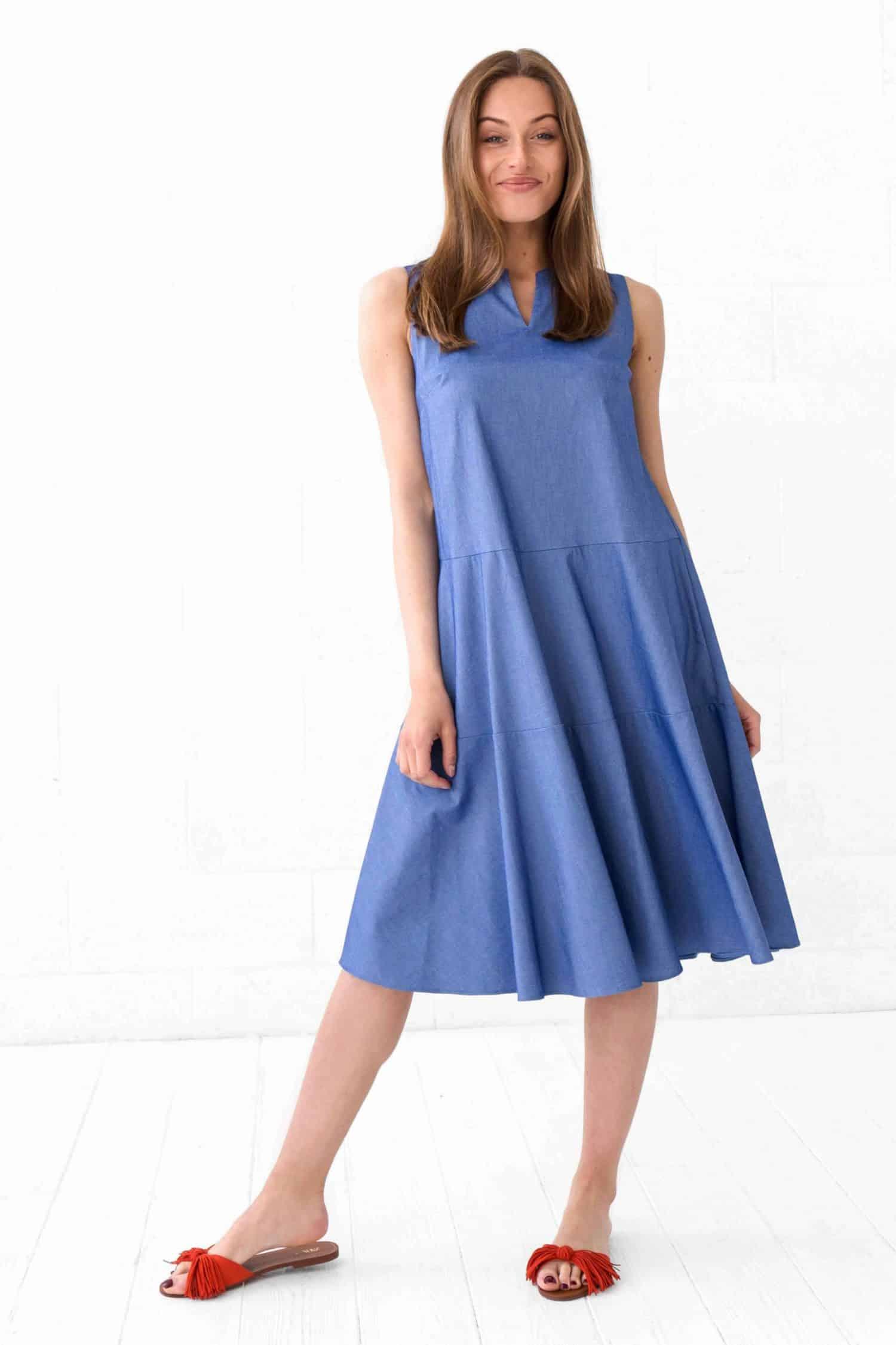 Blue Dress Mitra
