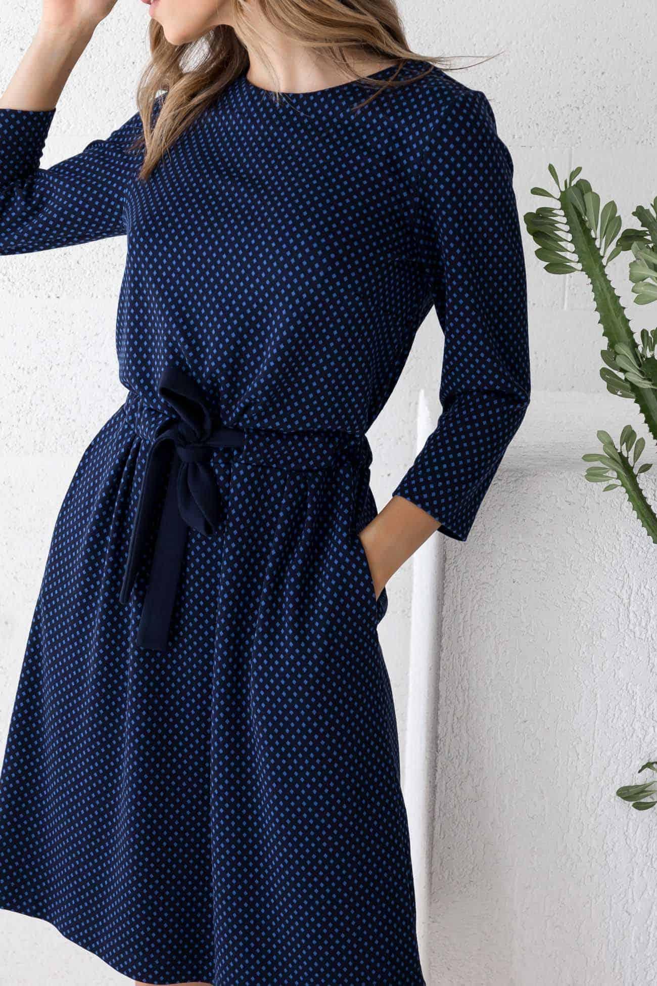 Navy Dress Sophia