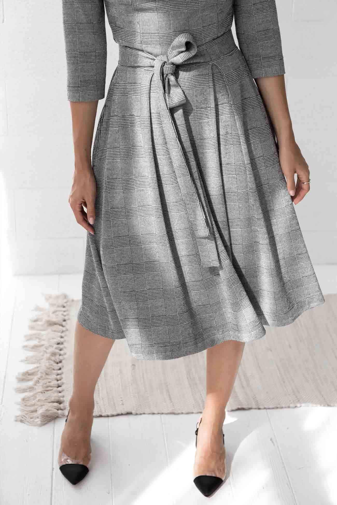 Grey Dress Isabella