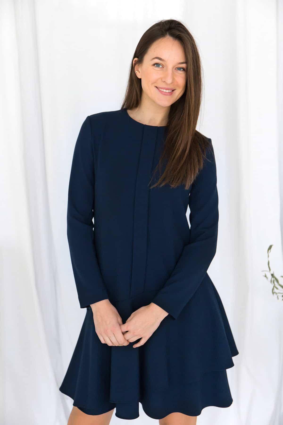 Vera Navy Dress