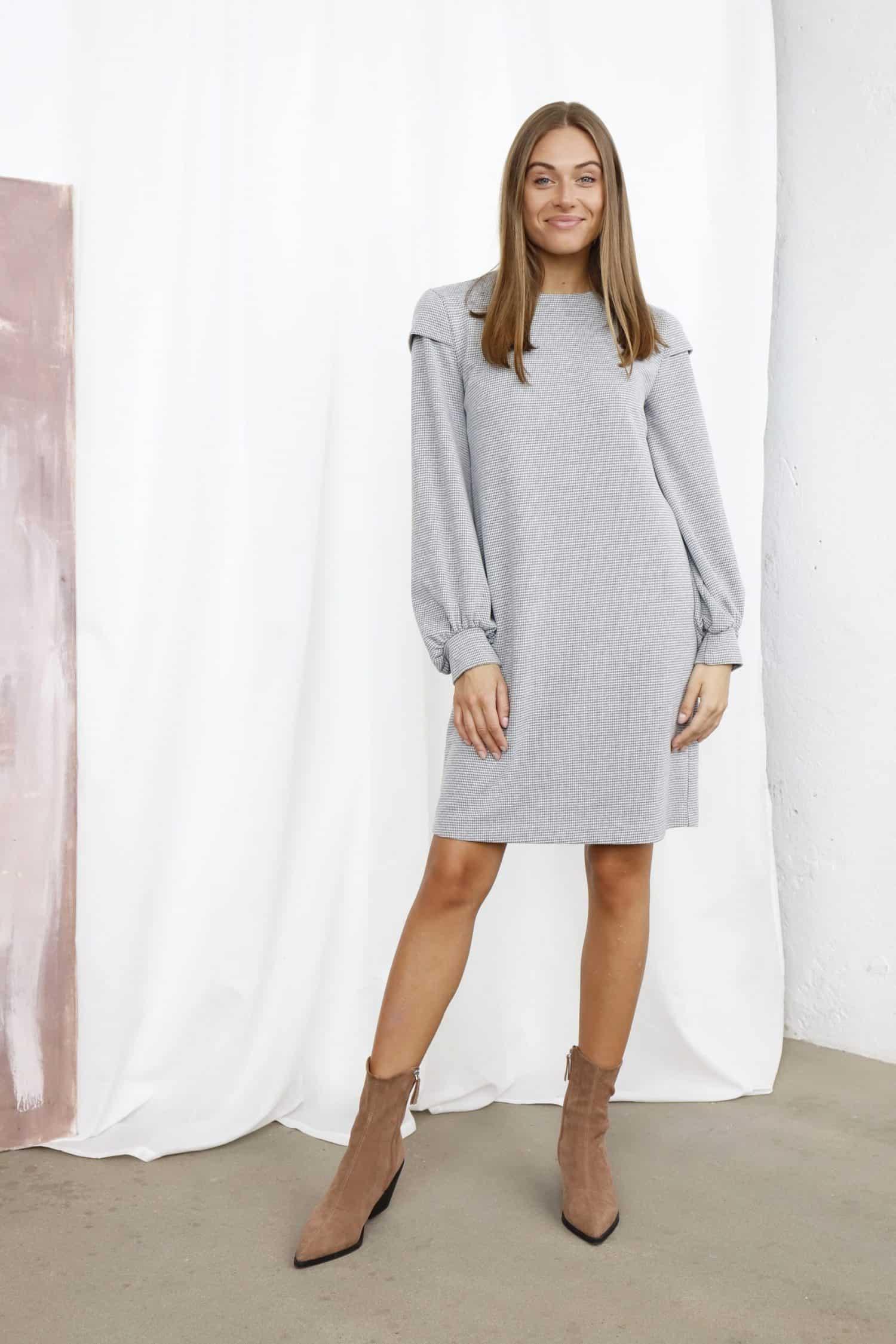 Grey Dress LEXIE
