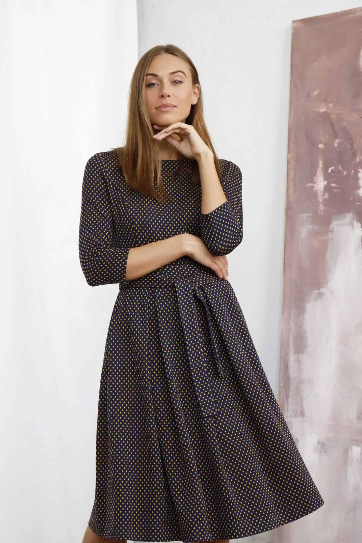 Brown Dress Mia