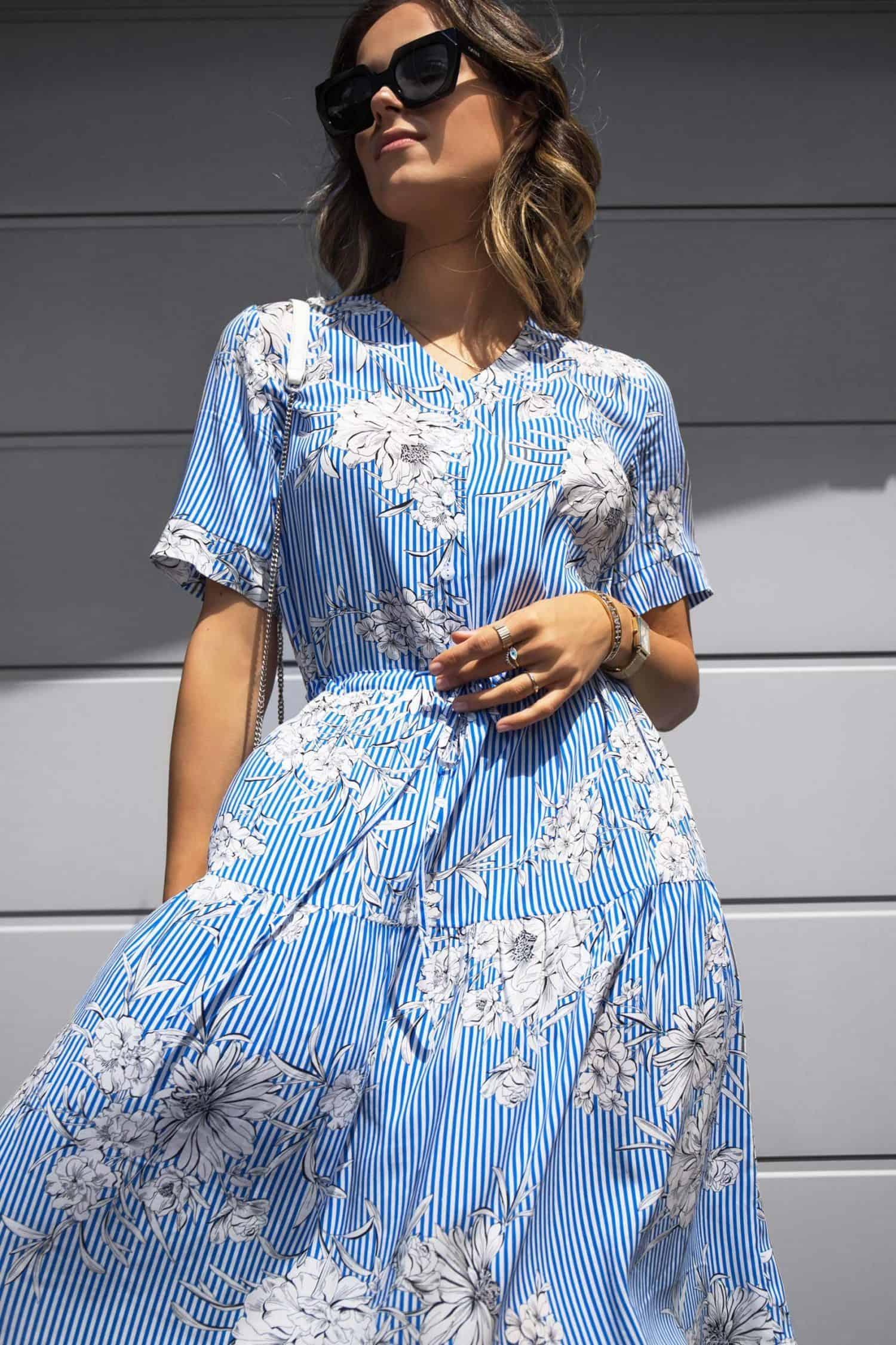 Striped Dress Leja